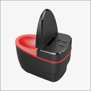 创意小马桶翻盖小夜灯通用手机充电器,智能快充