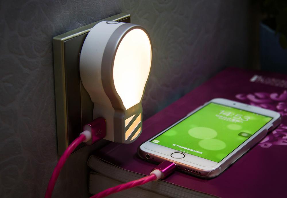 发光充电器