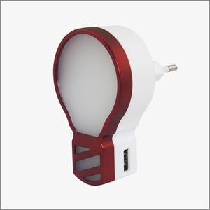 创意小灯泡手机通用充电器触控小夜灯